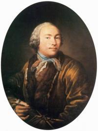 Чей автопортрет написанный в конце 1750-х годов?
