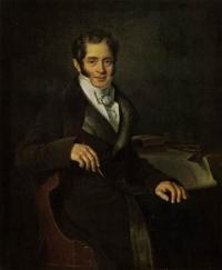 Чей портрет кисти Б. Ш. Митуара написанный в 1820-е годы?