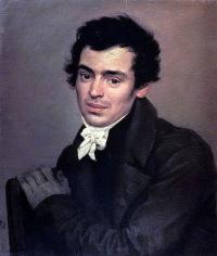 Чей портрет кисти К.П. Брюлова?