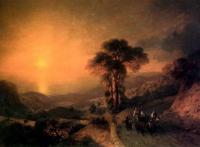 «Вид моря с гор при закате солнца» 1864. Государственный Русский музей. Санкт-Петербург