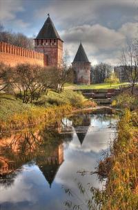 Кто архитектор Смоленской крепости?