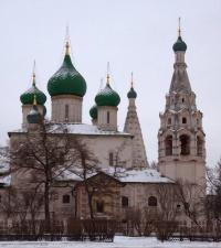 Кто расписывал в центре Ярославля церковь Ильи Пророка?