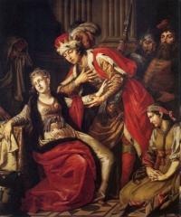 Владимир перед Рогнедой (1770)