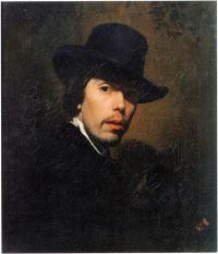 Чей автопортрет, написанный в 1858 г.?