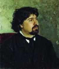 Чей портрет кисти Ильи Репина 1877г.?