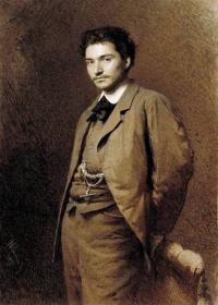 Чей портрет кисти И.Н.Крамского?