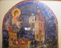 Довоенная копия фрески