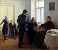 Кто автор картины «Искатели истины», (1903)?