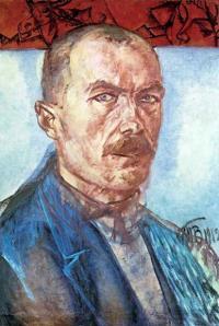 Чей автопортрет, созданный в 1912 году?