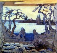 Кто автор эскиза декорации к «Соловью» И.Стравинского?