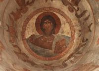 Откуда эта новгородская фреска «Вседержитель» второй половины 14 века?