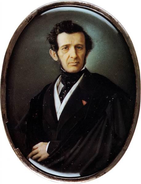 Чей портрет созданный Н.М. Теребеневым в 1854 г.?