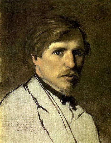 Чей портрет кисти В. Г. Перова написанный им около 1862 г.?