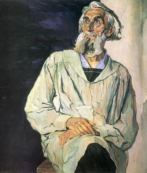 Чей портрет кисти Павла Корина?