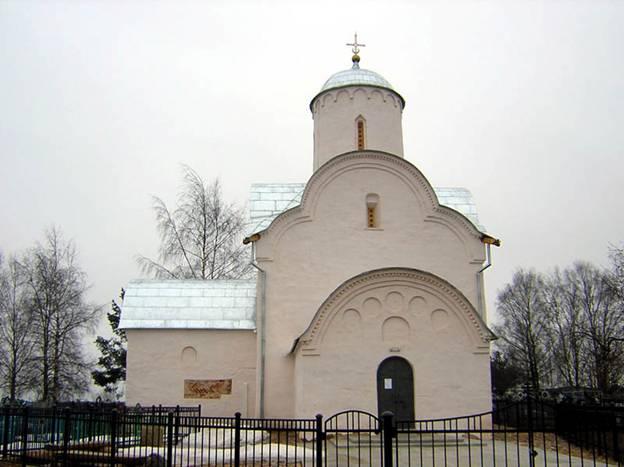 Как называется это классическое произведение новгородского зодчества 14 века?